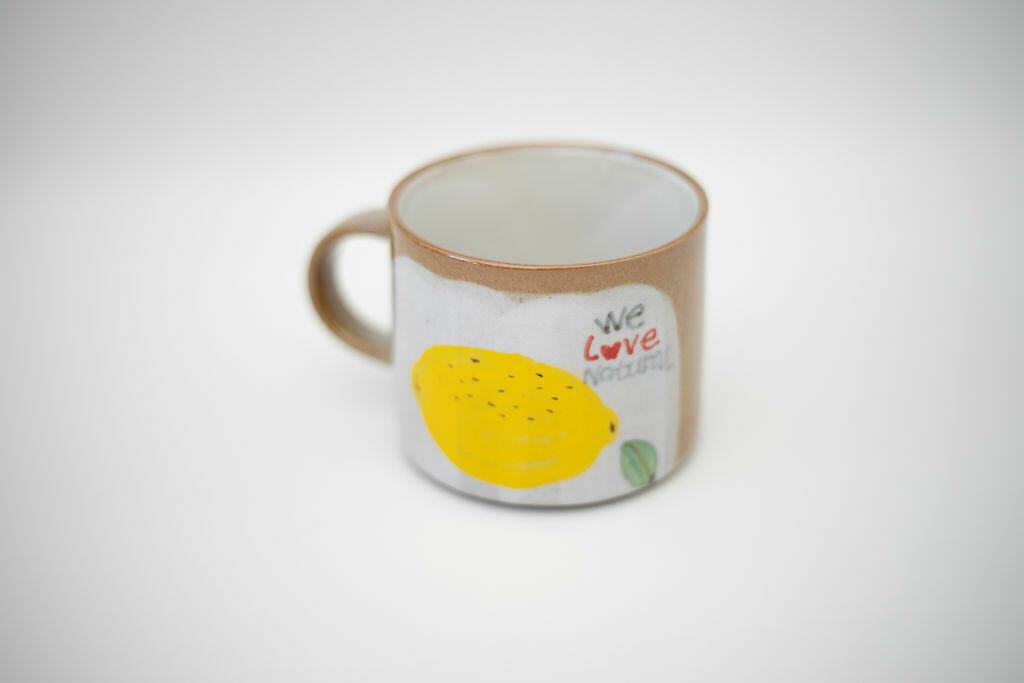 We Love Natural Mug-Lemon   Trada Marketplace