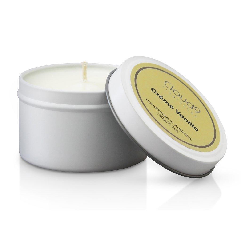 Creme Vanilla Tin Candle | Trada Marketplace