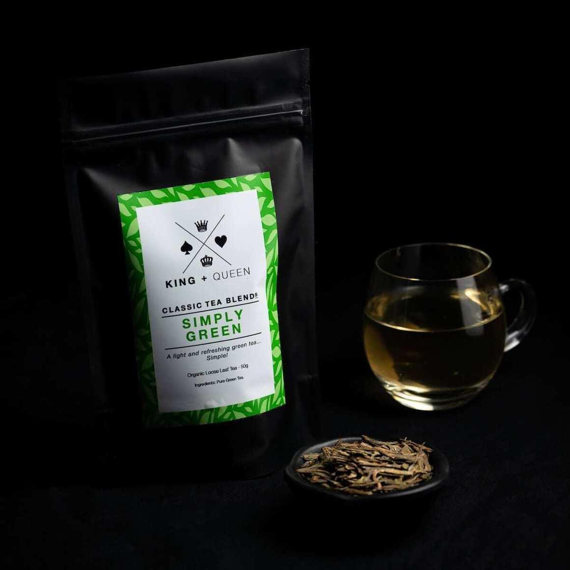 Simply Green - Organic Green Tea   Trada Marketplace