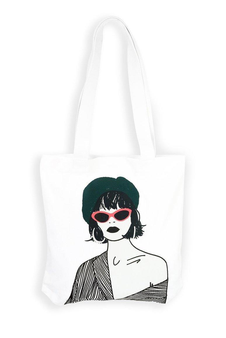 Green Beret Girl Tote bag | Trada Marketplace
