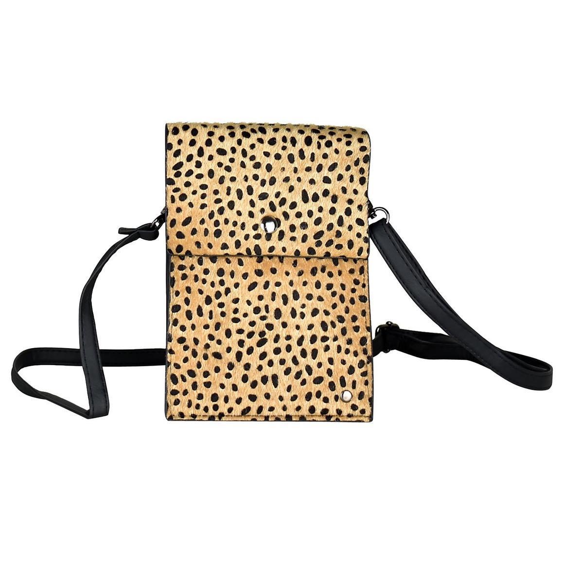 THSB1011: Brown: Animal Print Cross Bag | Trada Marketplace