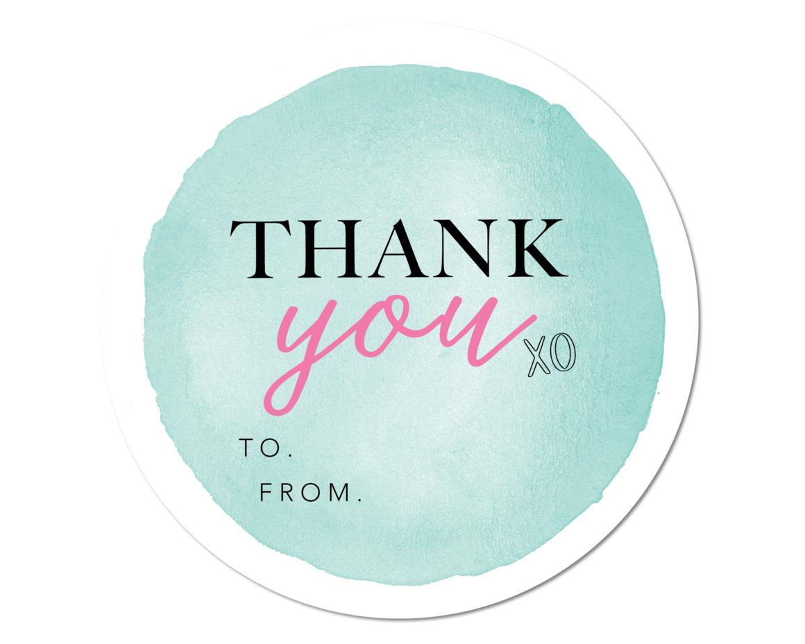 MINT THANK YOU - SET OF 6 | Trada Marketplace