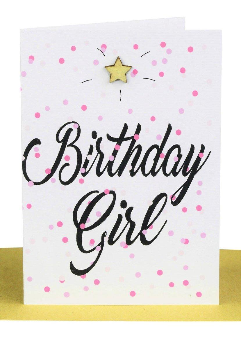 Wholesale Birthday Girl Gift Card - Confetti | Trada Marketplace