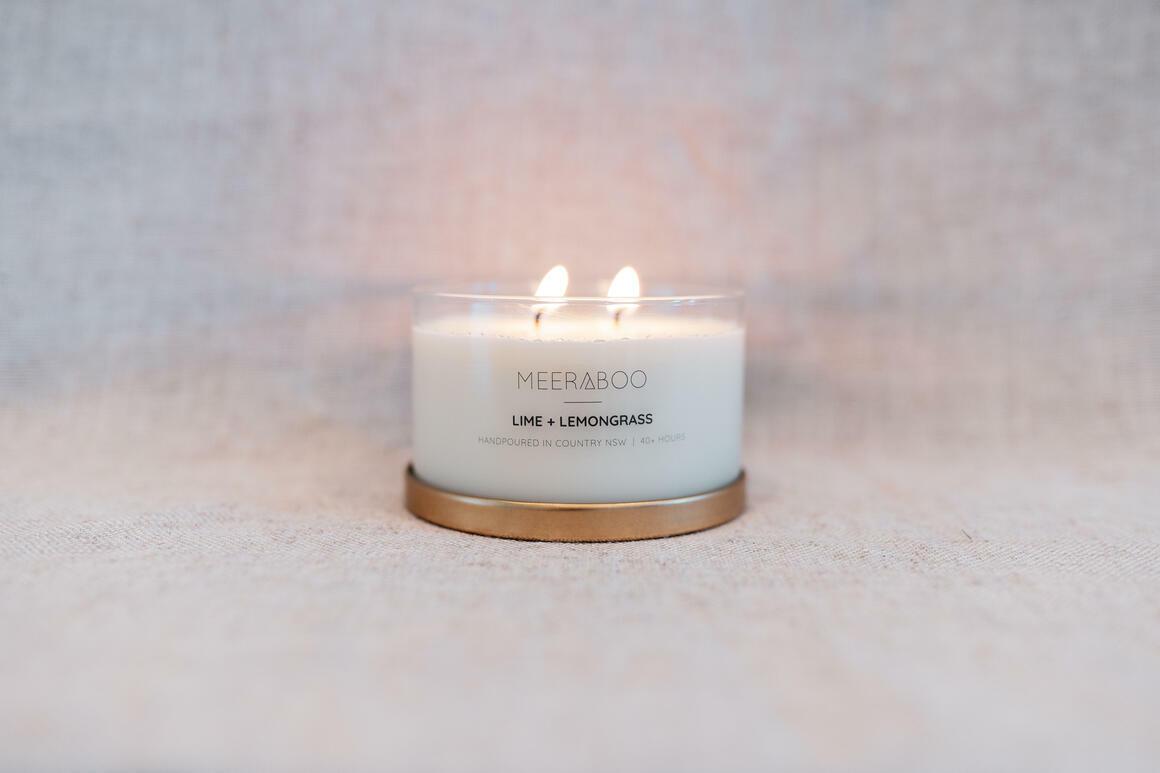 Mint Mojito Gold Lid Candle | Trada Marketplace
