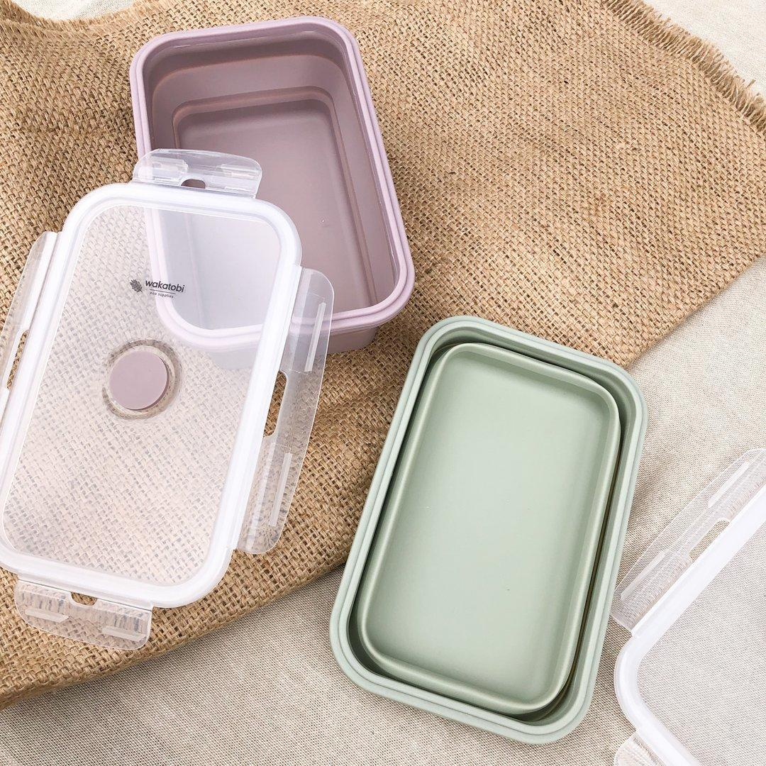 800ml Collapsible Lunch Box   Trada Marketplace