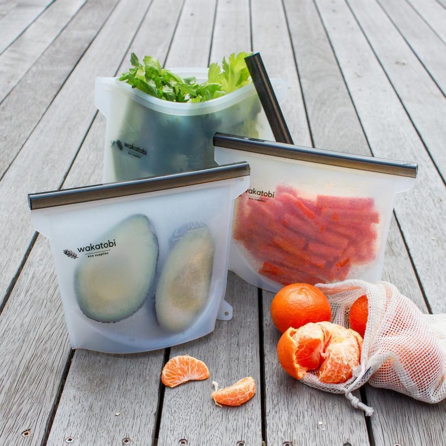 1L Silicone Ziplock Bag   Trada Marketplace