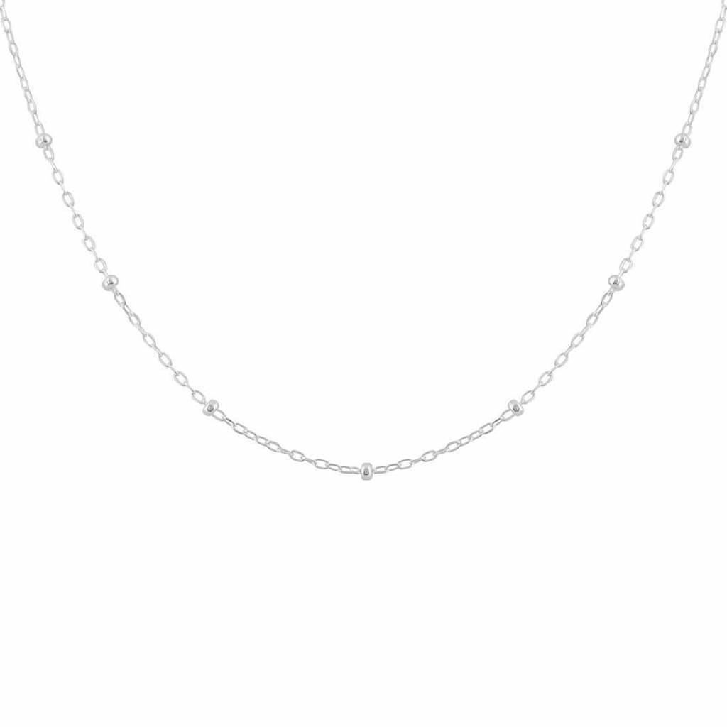 Dot Chain Necklace - Sterling Silver | Trada Marketplace