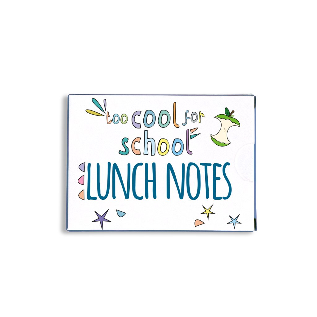 Too cool for school lunch notes   Trada Marketplace