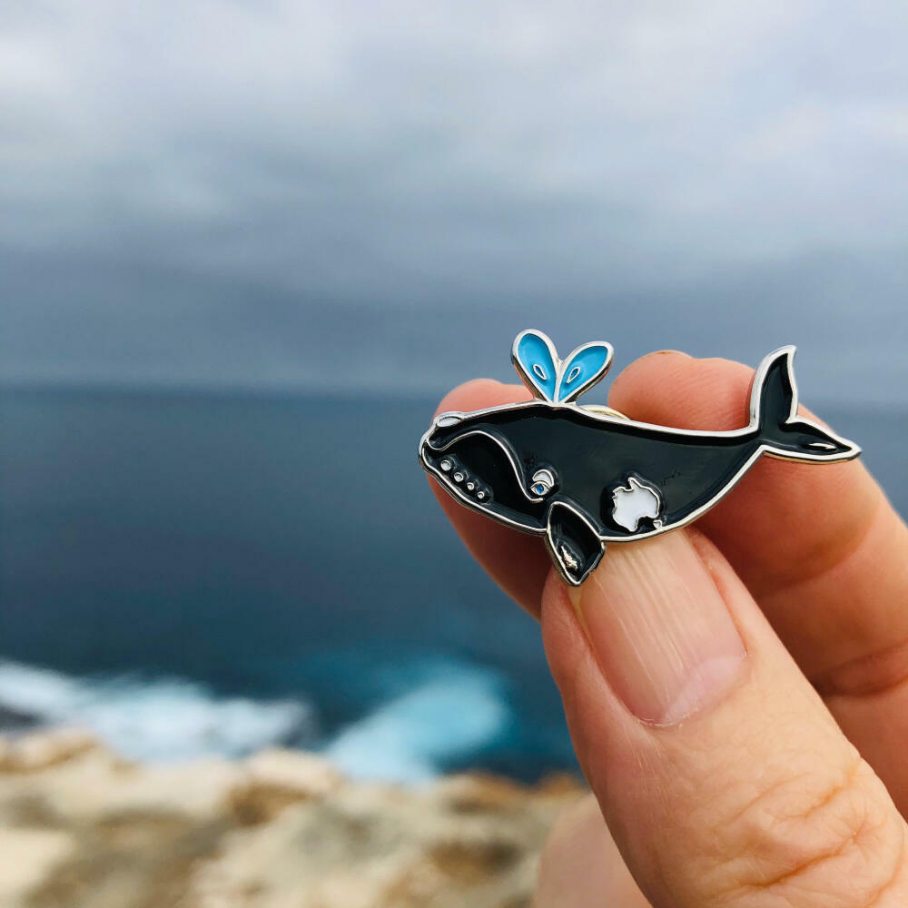 PIN Southern Right Whale  | Trada Marketplace