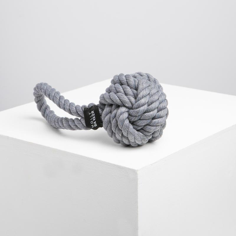 Grey Barker Rope Dog Toy | Trada Marketplace