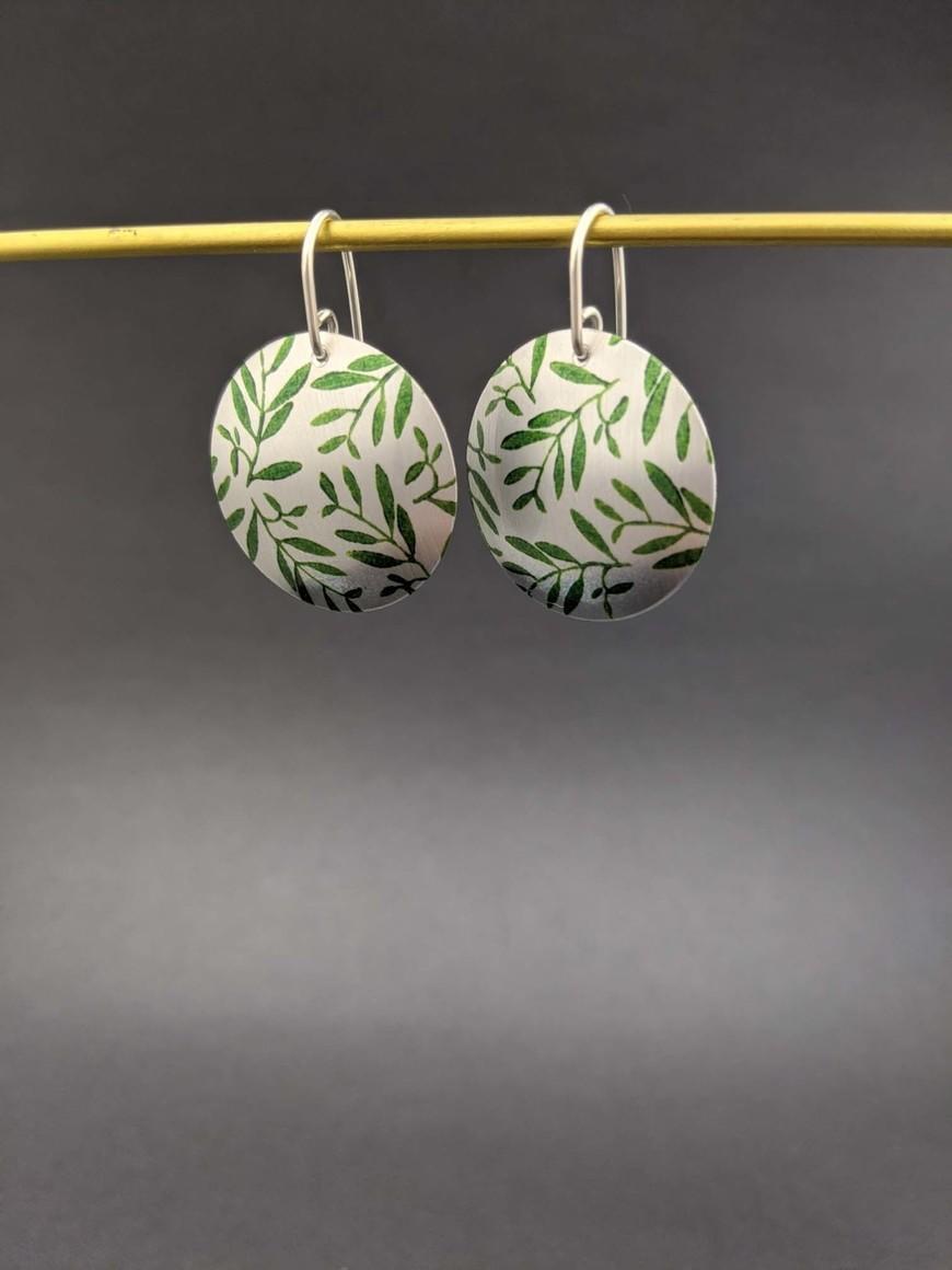 FOLIAGE - round earrings   Trada Marketplace