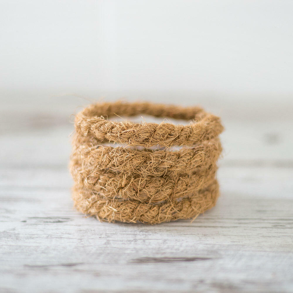Coconut Husk Serving Rings | Trada Marketplace