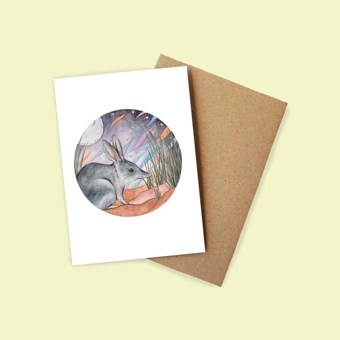 Greeting Card - Greater Bilby | Trada Marketplace