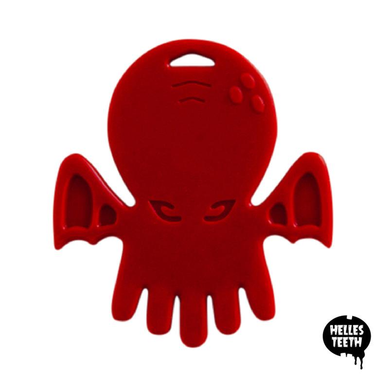 Cthulhu Chew Teether - Miskatonic Red | Trada Marketplace