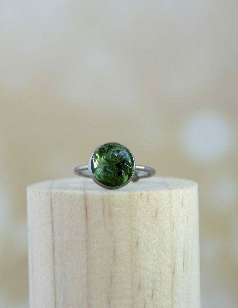 Green Obsidian Ring | Trada Marketplace