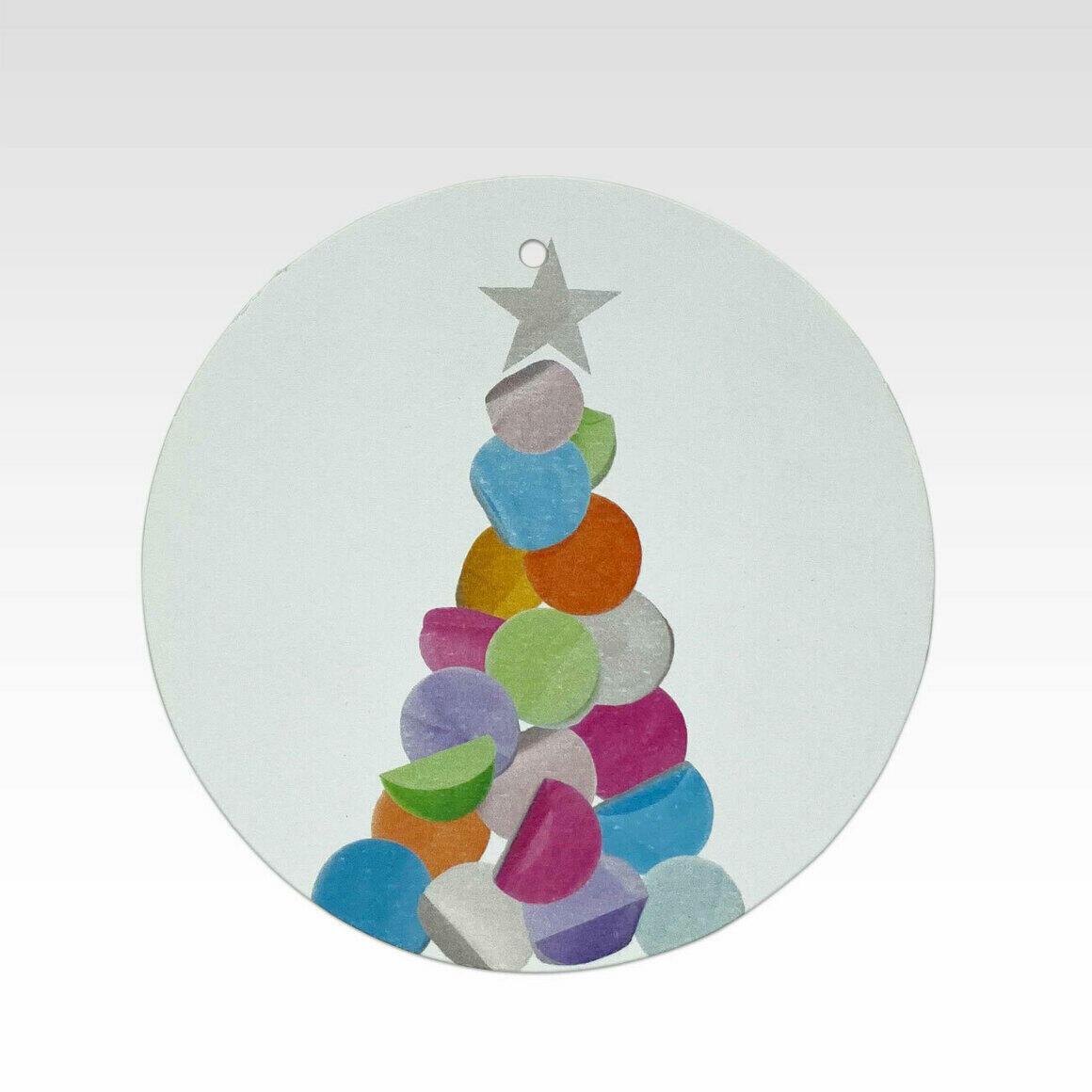 TAG082 – Confetti Christmas Tree   Trada Marketplace