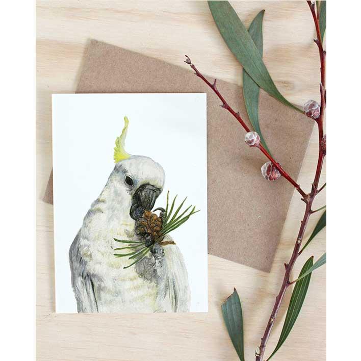 Cockatoo Card | Trada Marketplace