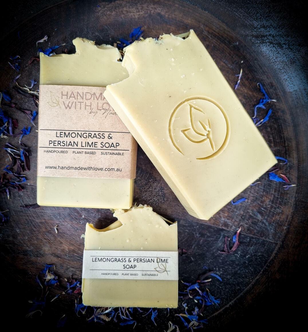 Lemongrass & Persian Lime Soap | Trada Marketplace