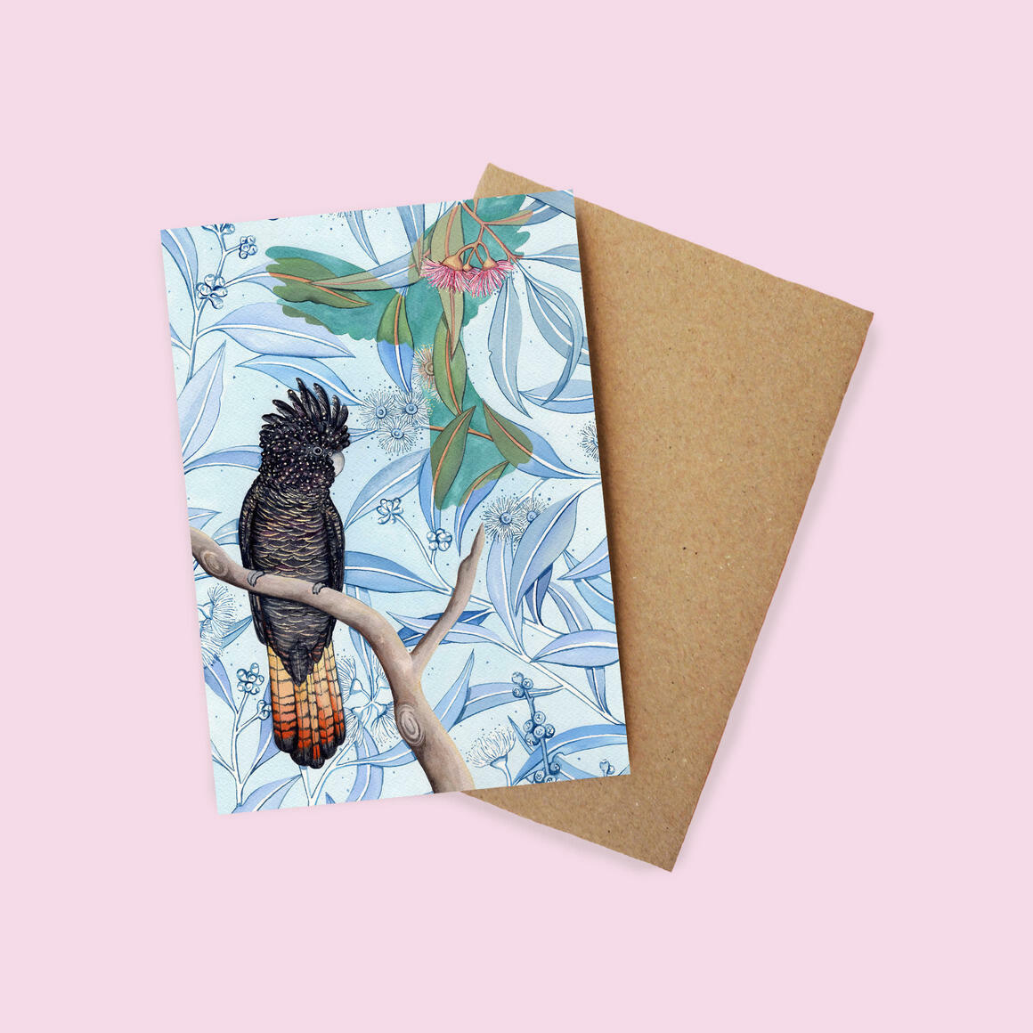 Greeting Card - Red Tail | Trada Marketplace