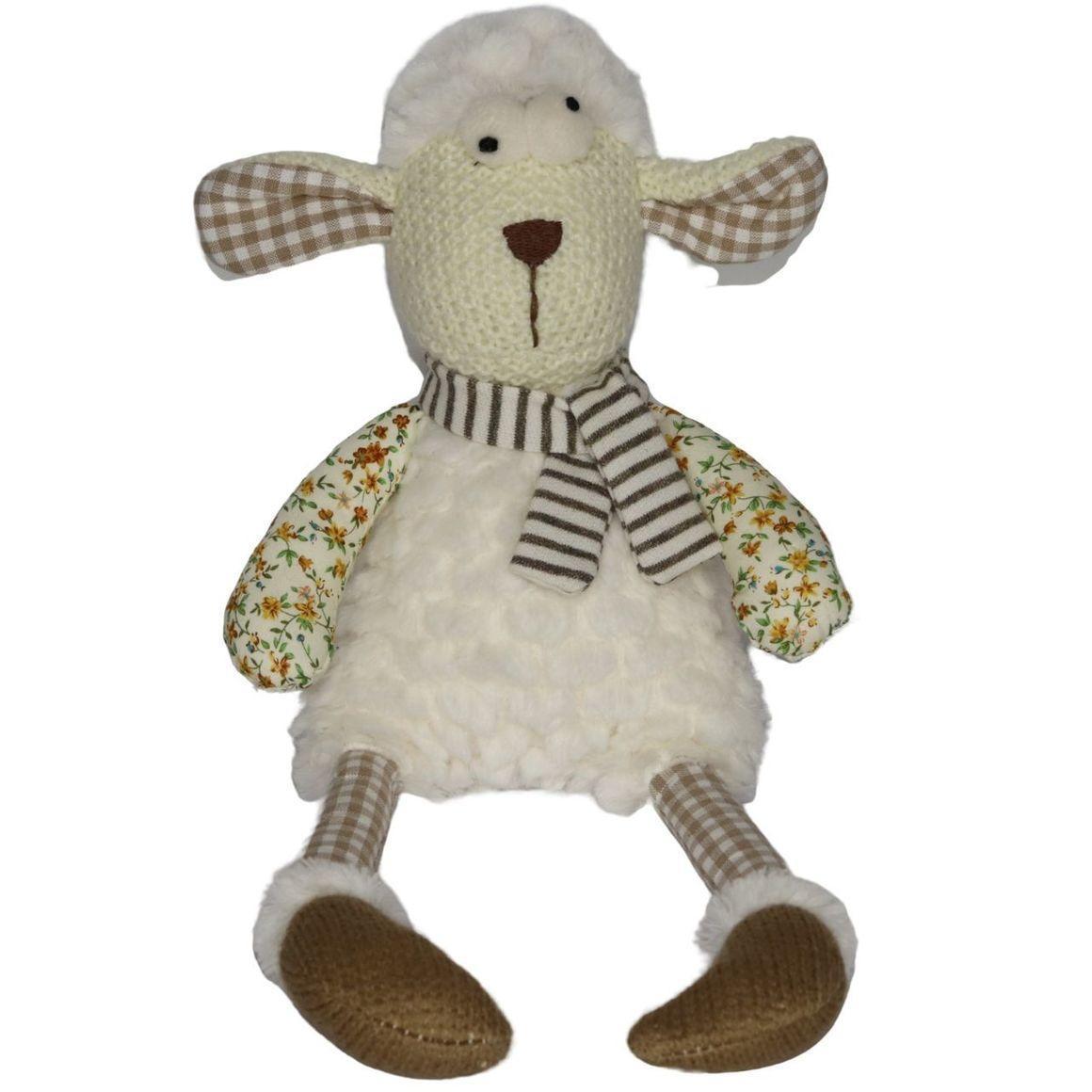 Plush Toy Lamb - Natural    Trada Marketplace