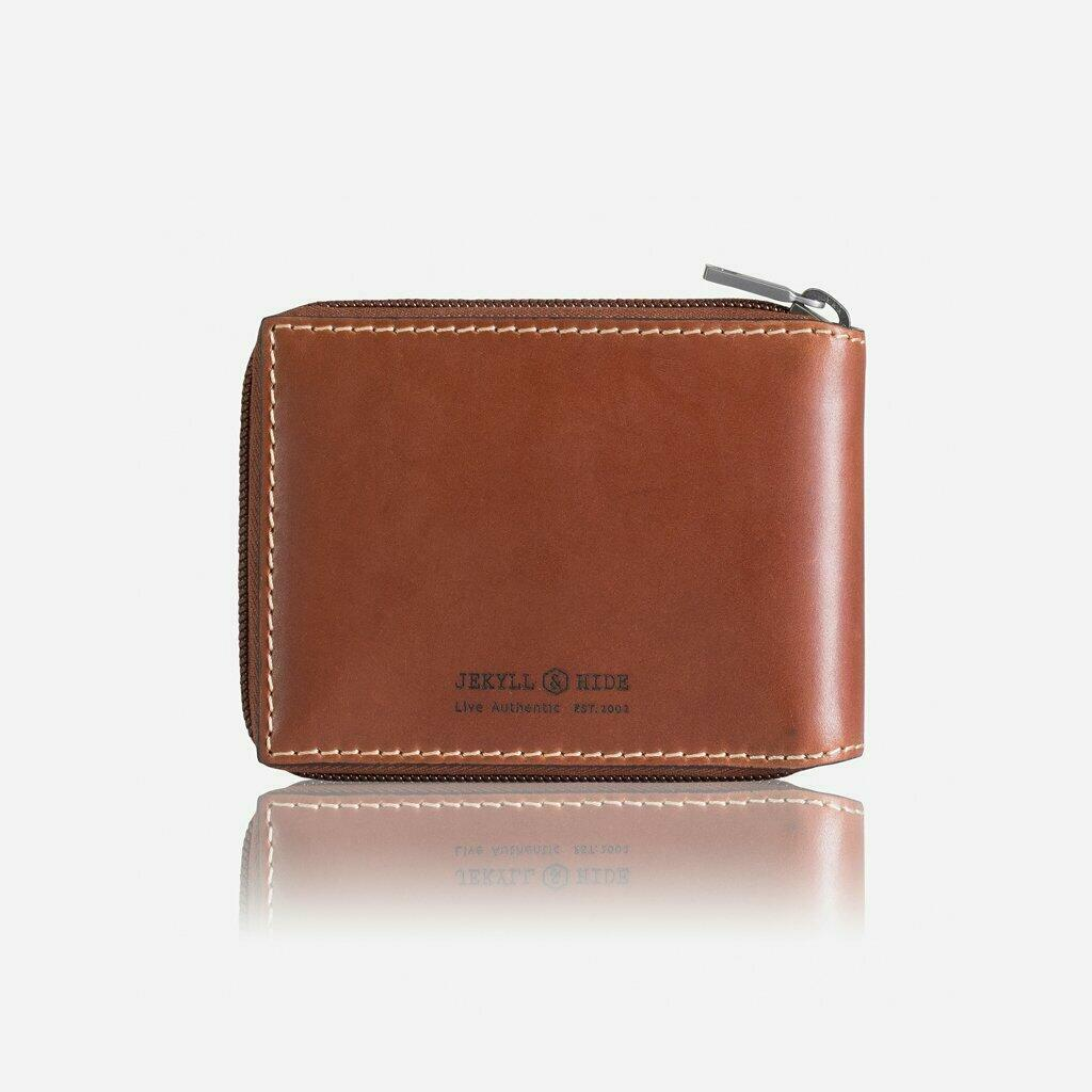 Large Zip Around Wallet With Coin Clay | Trada Marketplace
