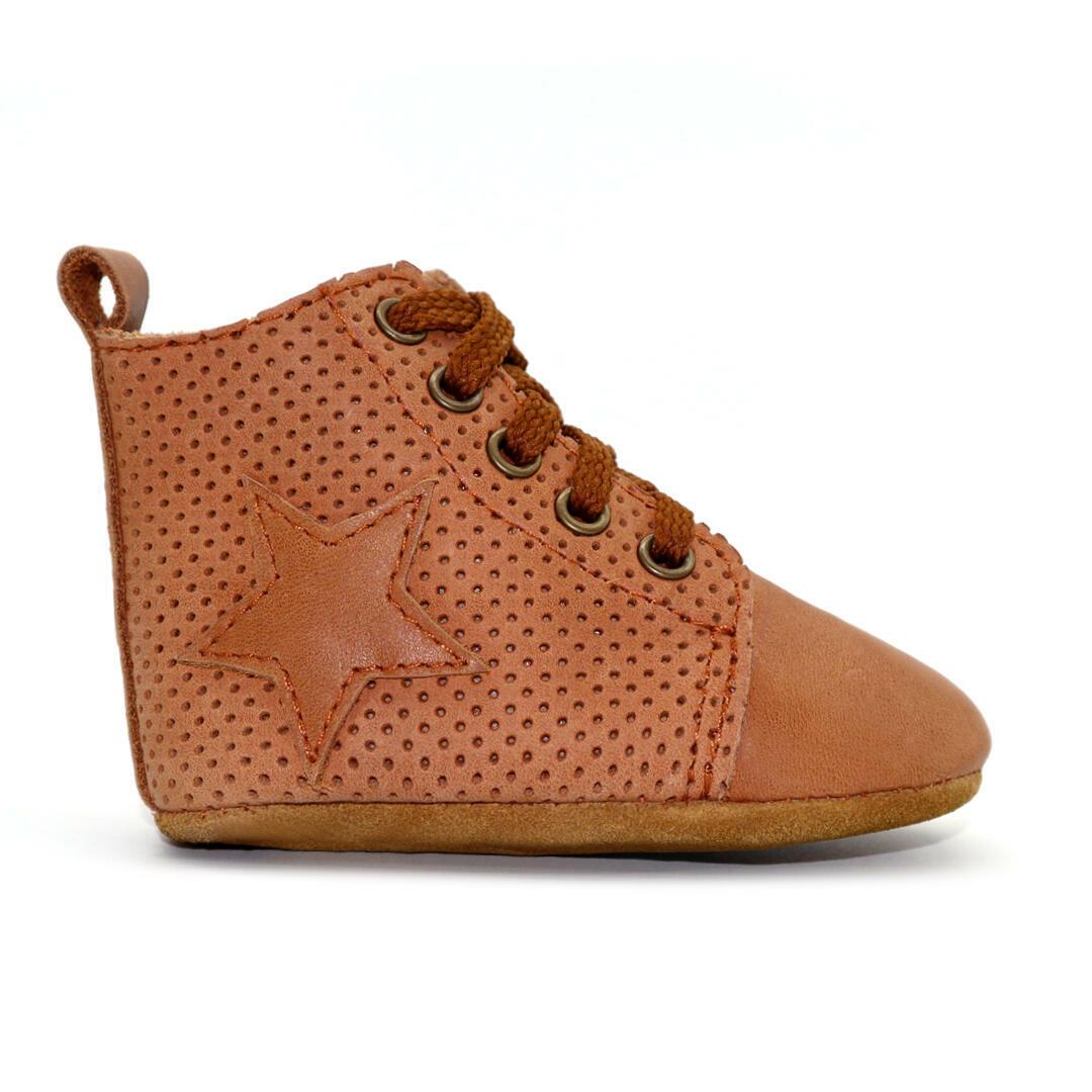 Seren baby hightop boot - Tan | Trada Marketplace