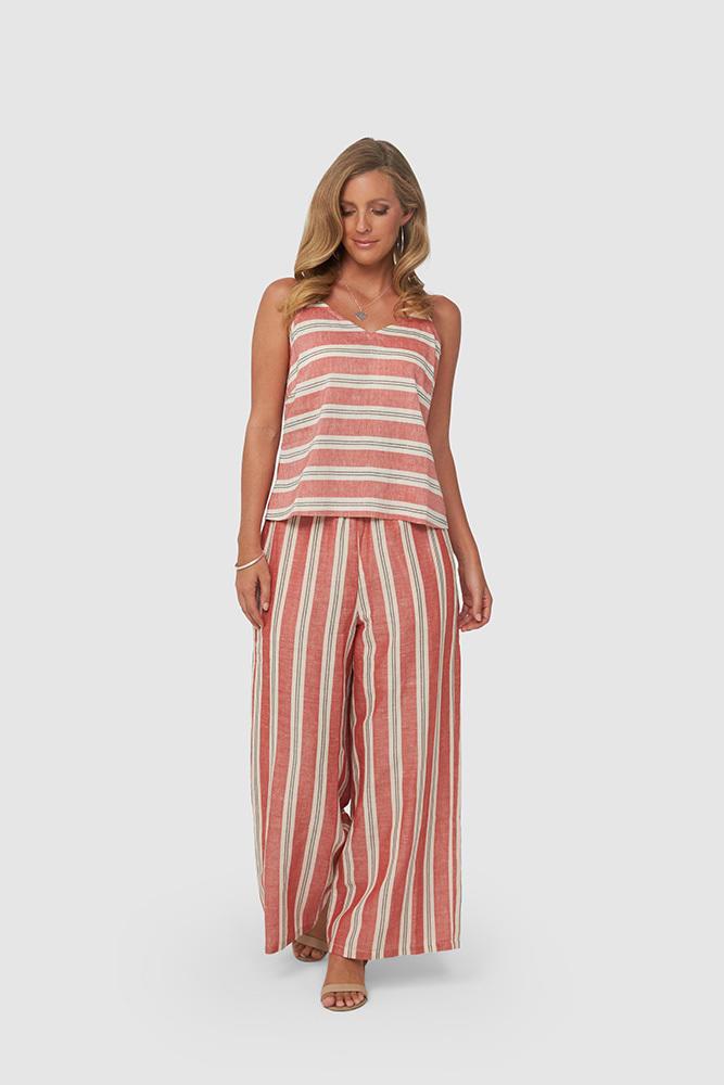 CLEO Singlet | Red Stripe | Trada Marketplace