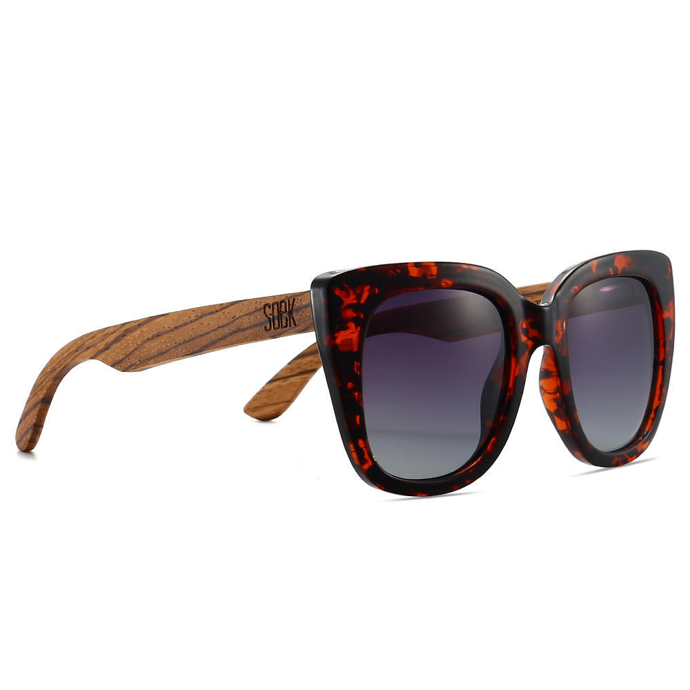 RIVIERA TORTOISE - Brown Graduated Lens with Walnut Arms | Trada Marketplace