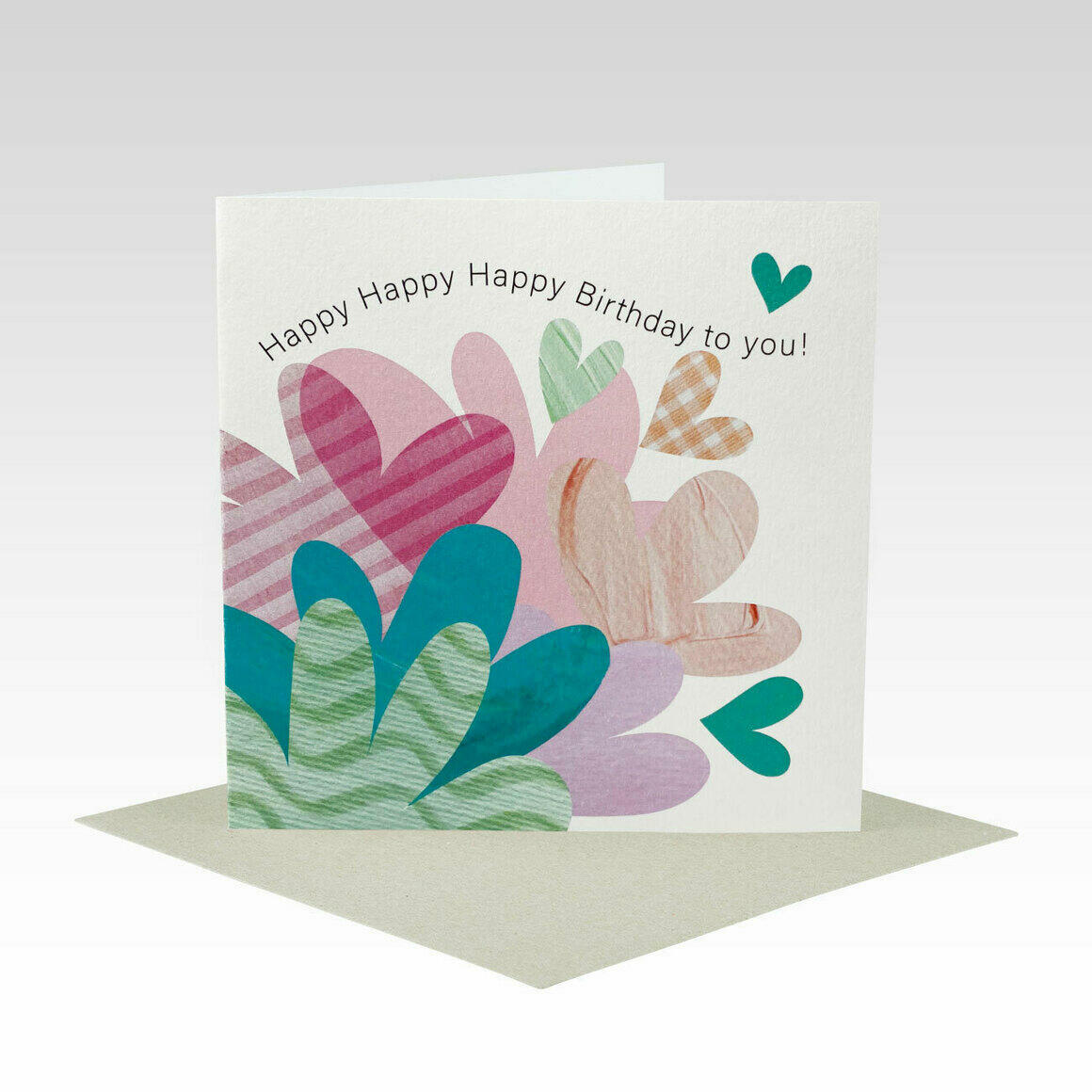 HB085 – Quirky Flowers Birthday Card   Trada Marketplace