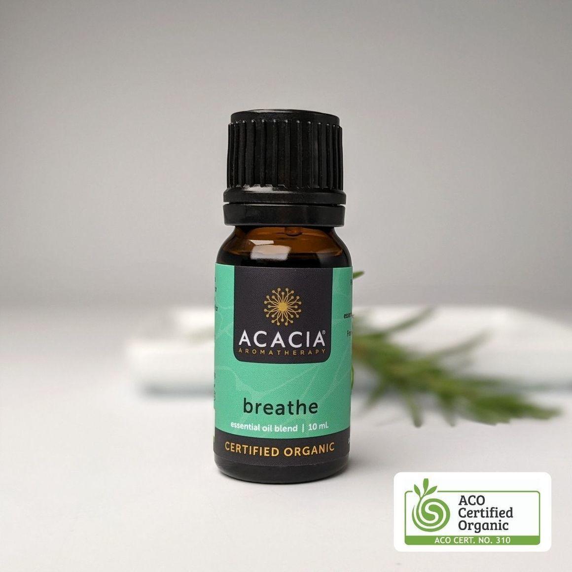 Breathe Certified Organic Essential Oil Blend   Trada Marketplace