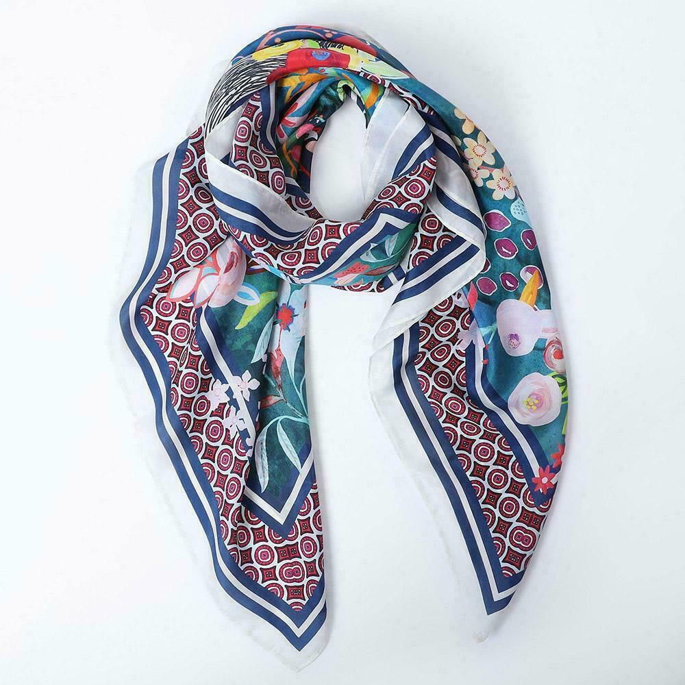 The Floral Deer Scarf   Trada Marketplace