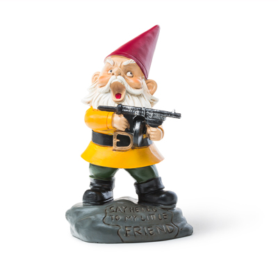 BigMouth Angry Little Garden Gnome   Trada Marketplace
