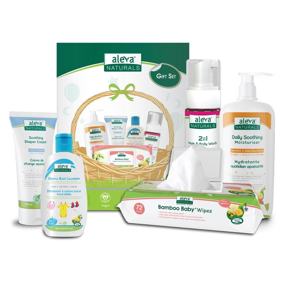 Aleva Natural Newborn Gift Set | Trada Marketplace