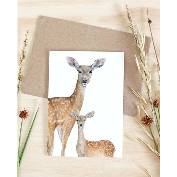 Deer Card | Trada Marketplace