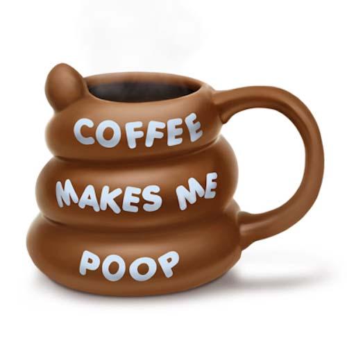 BigMouth Coffee Makes Me Poop Mug   Trada Marketplace