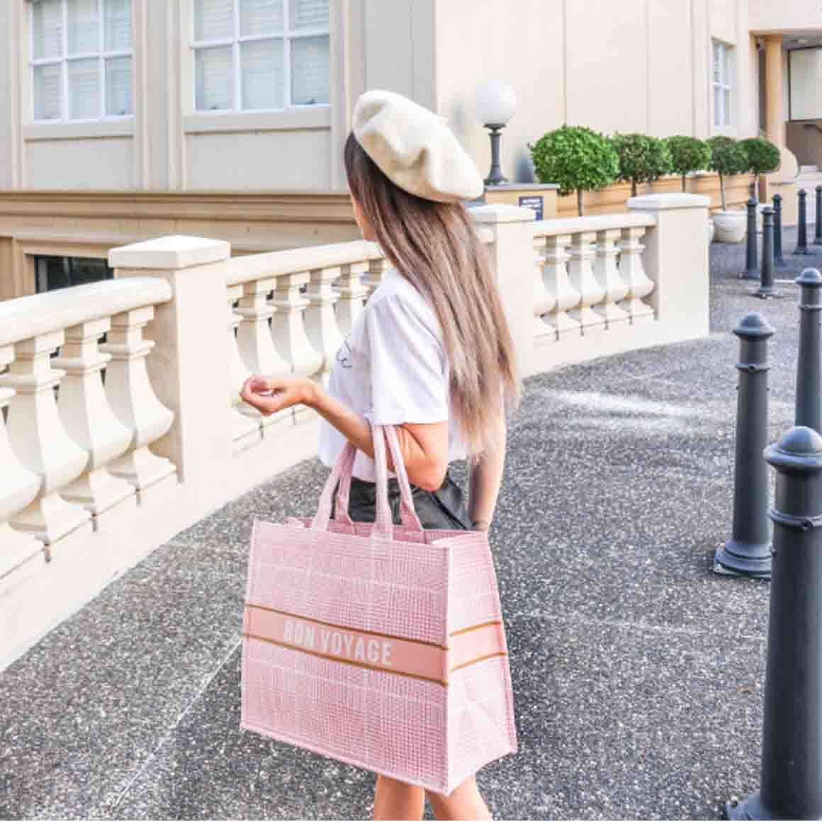 Bon Voyage Book Bag | Trada Marketplace