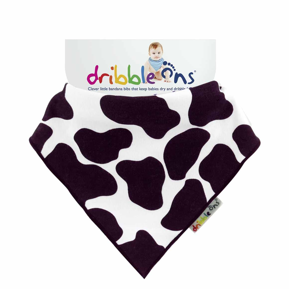 DRIBBLE ONS Cow Print | Trada Marketplace