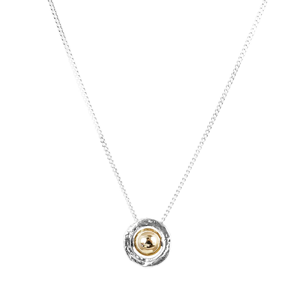 Atticus Fine Necklace | Polished Gold Detail | Trada Marketplace