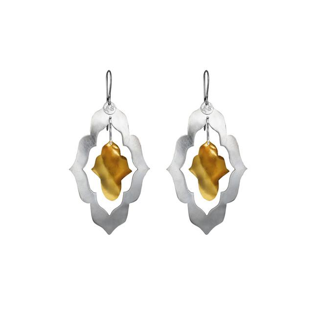 Dancing Forms Sml Silver and Gold   Trada Marketplace