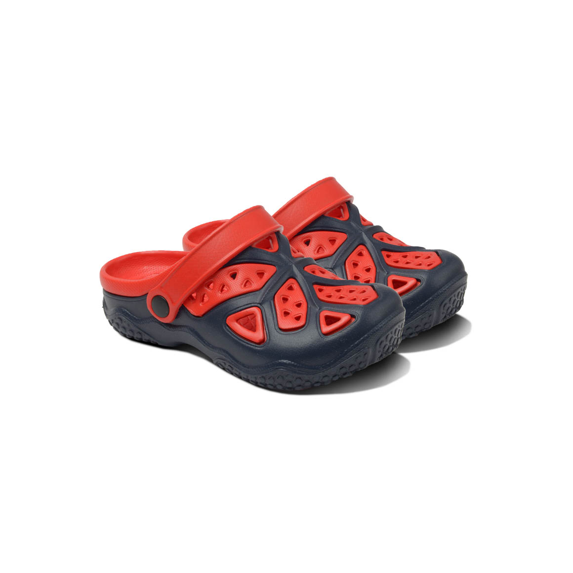 Kids Lightweight Clogs - Navy/Red | Trada Marketplace