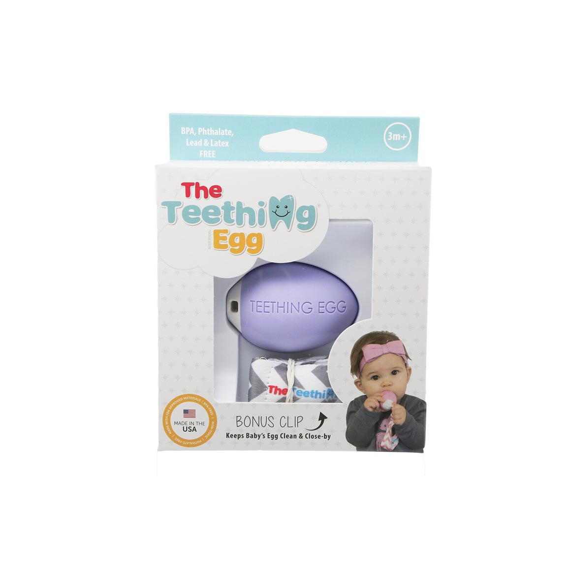 The The Teething Egg Lavender | Trada Marketplace