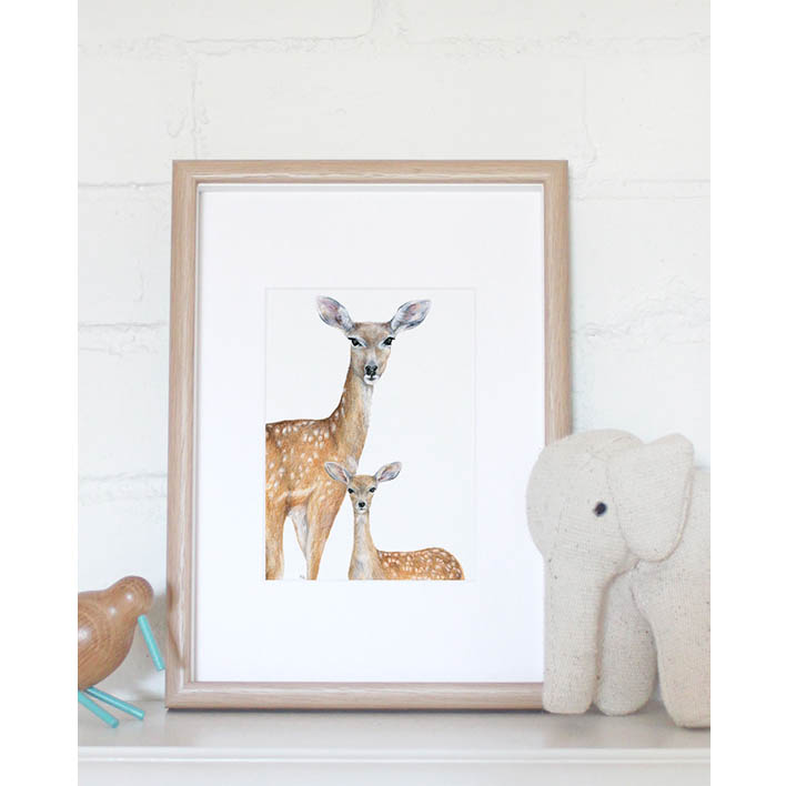Deer Mini Print | Trada Marketplace