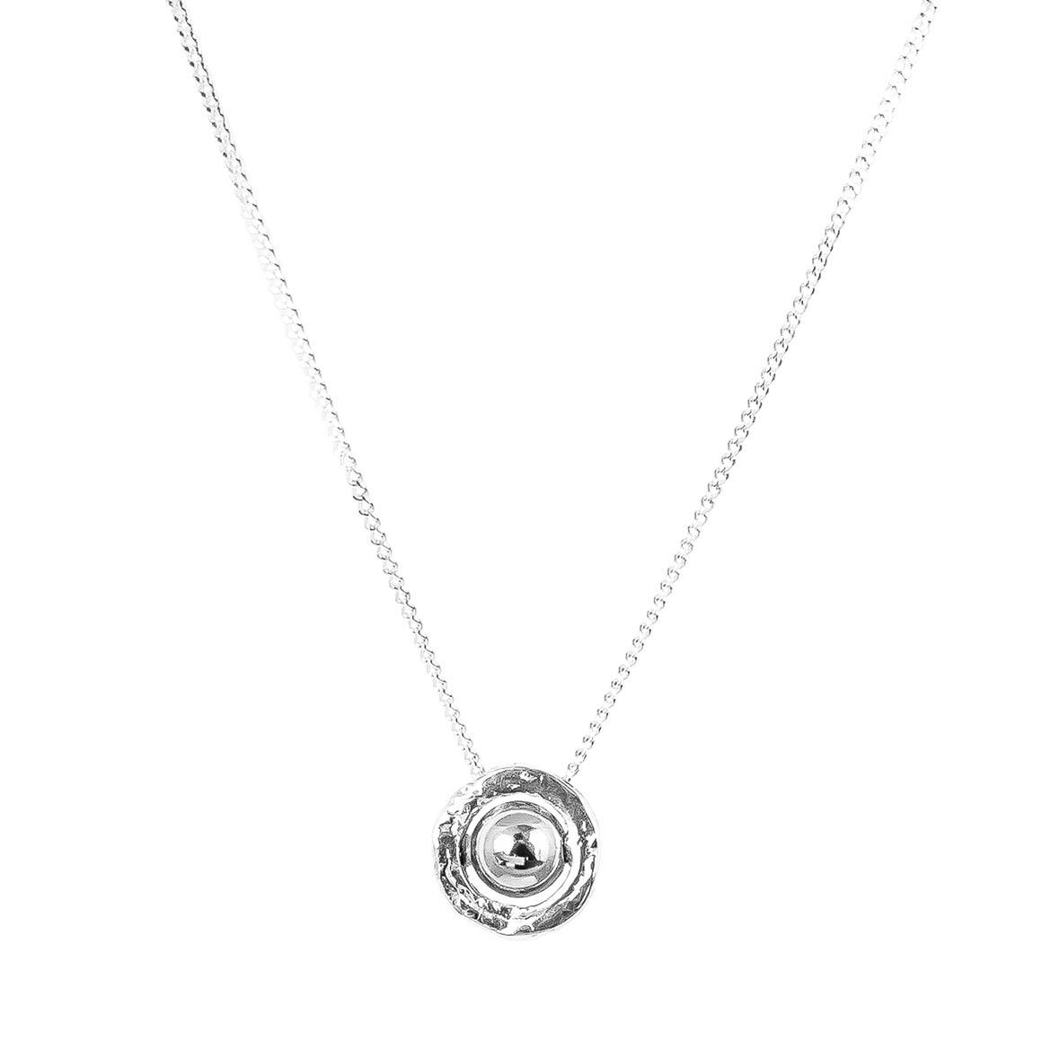 Atticus Fine Necklace | Polished Silver Detail | Trada Marketplace