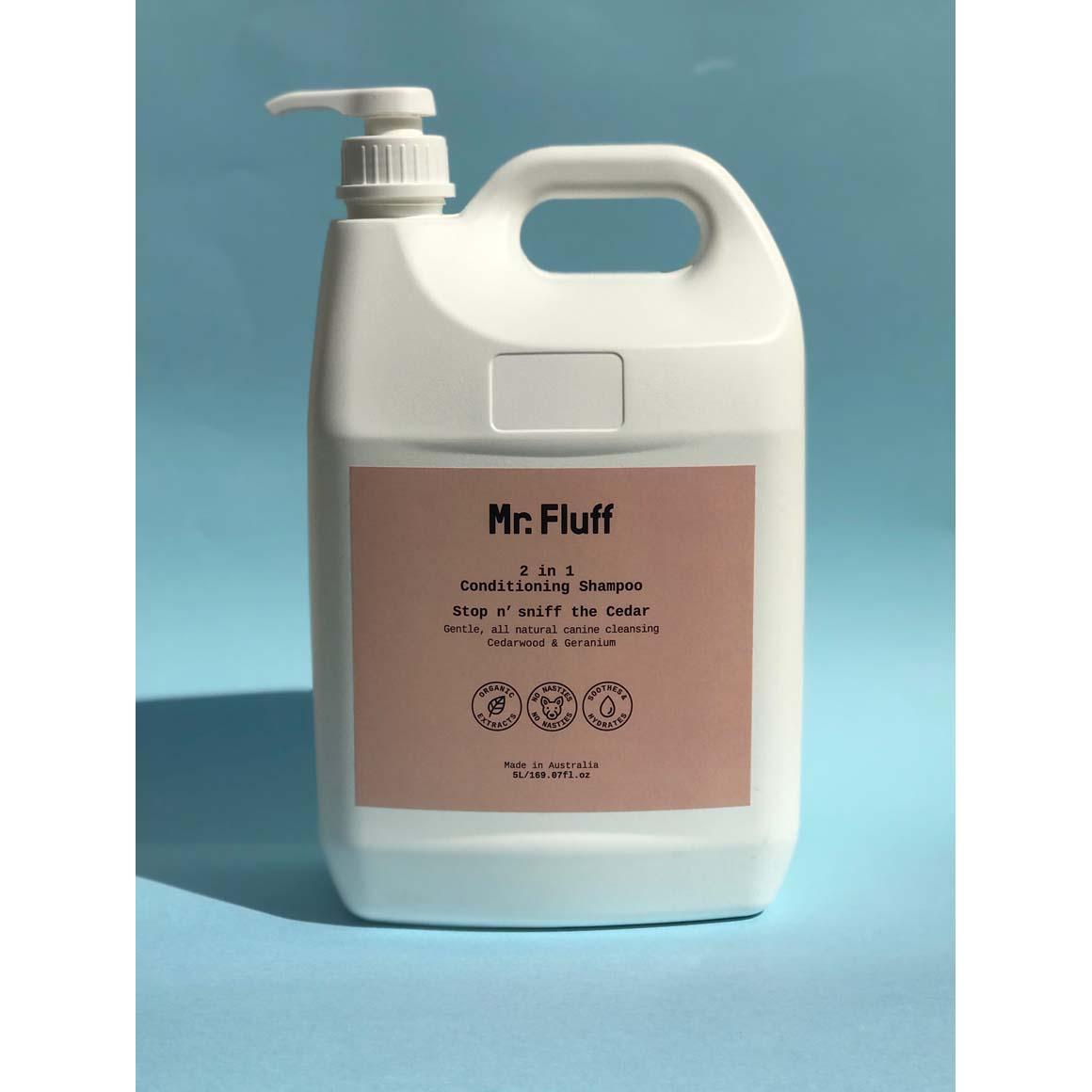 Bulk 2 in 1 Conditioning Shampoo | Stop n' Sniff the Cedar | 5L | Trada Marketplace