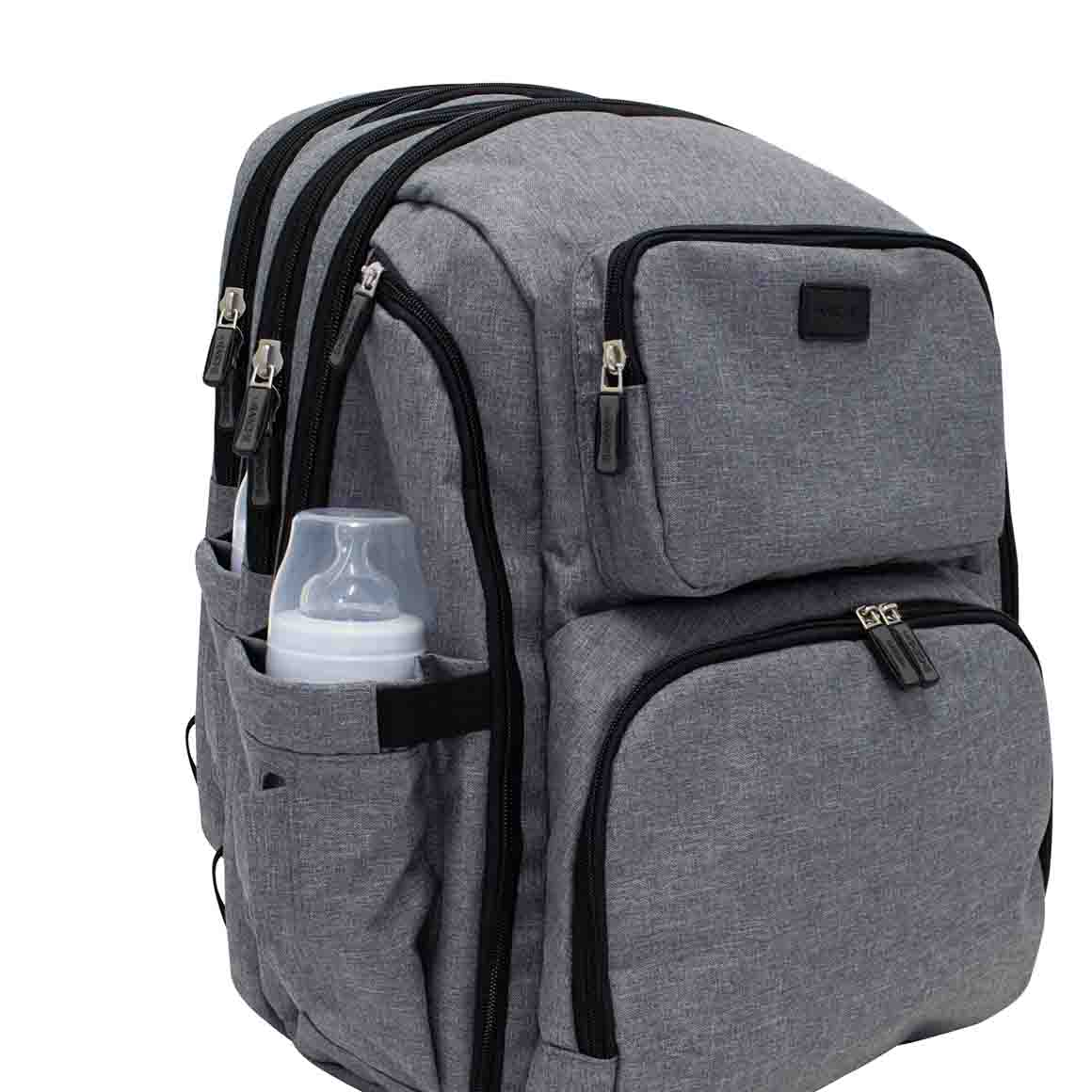 La Tasche Iconic Backpack - Grey | Trada Marketplace