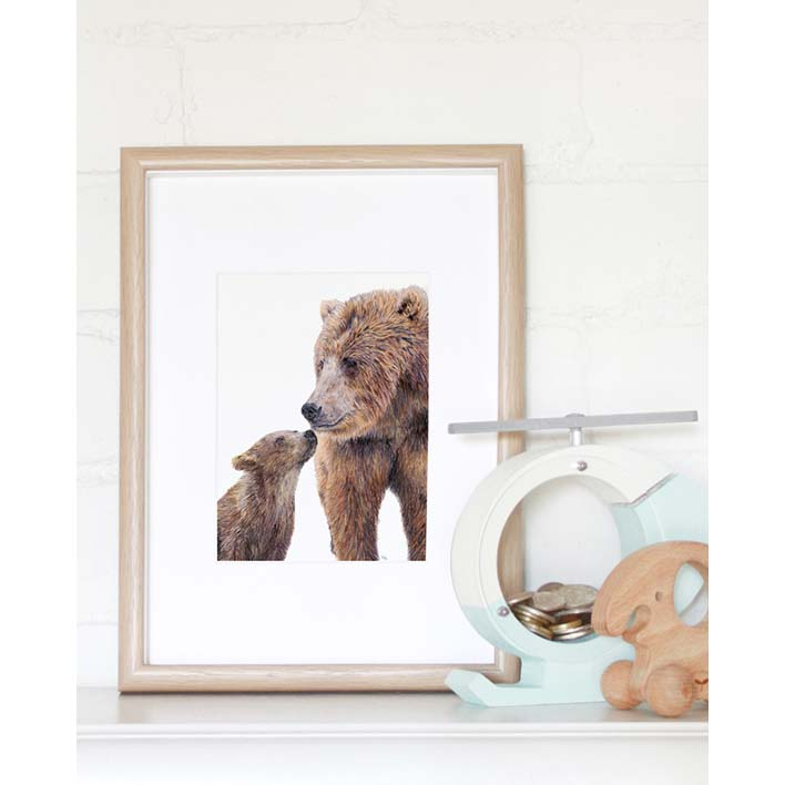 Bear Mini Print | Trada Marketplace