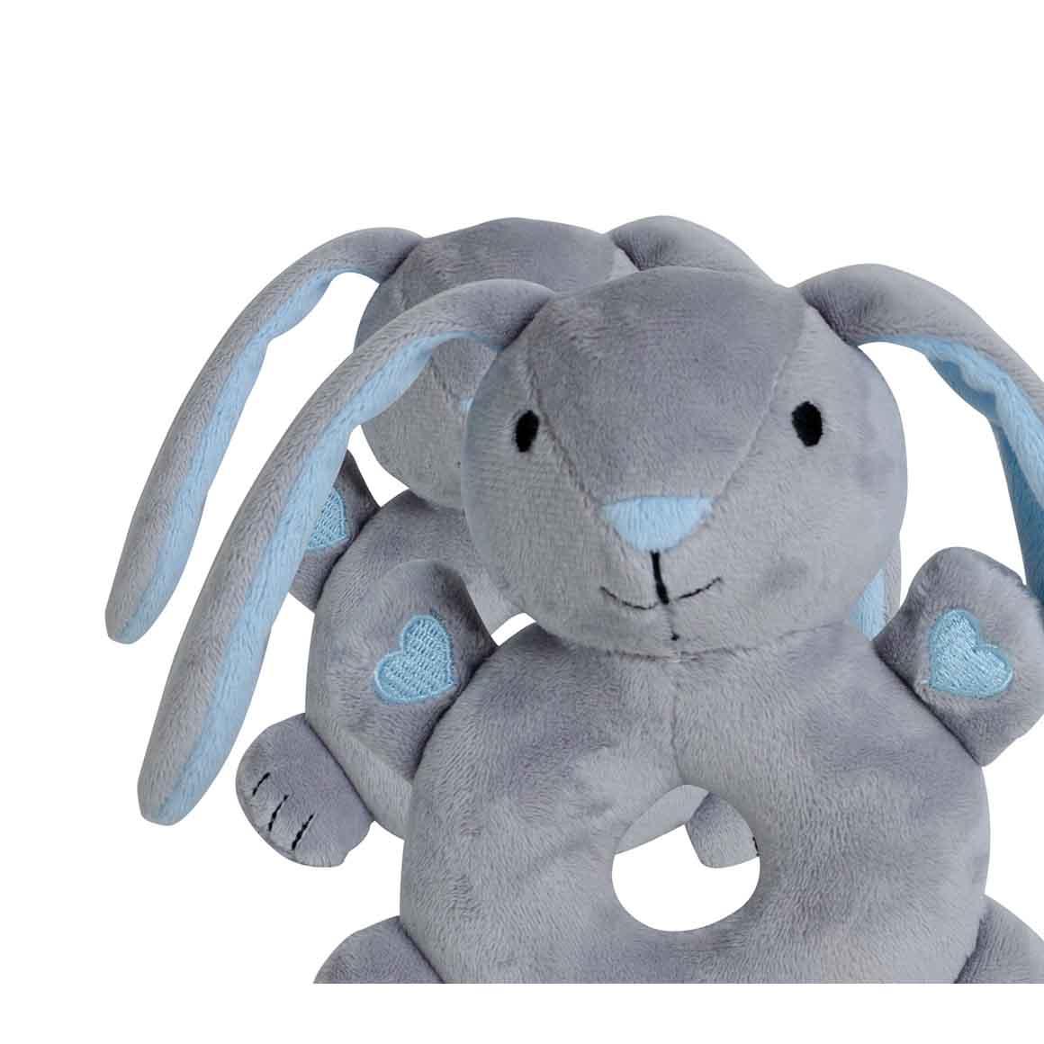 BibiBaby Cuddle Rattle - Beau Bunny   Trada Marketplace
