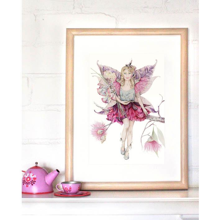 Fairy Print (Mythical Eden) + Frame | Trada Marketplace
