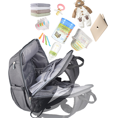 La Tasche Metro Backpack - Grey | Trada Marketplace