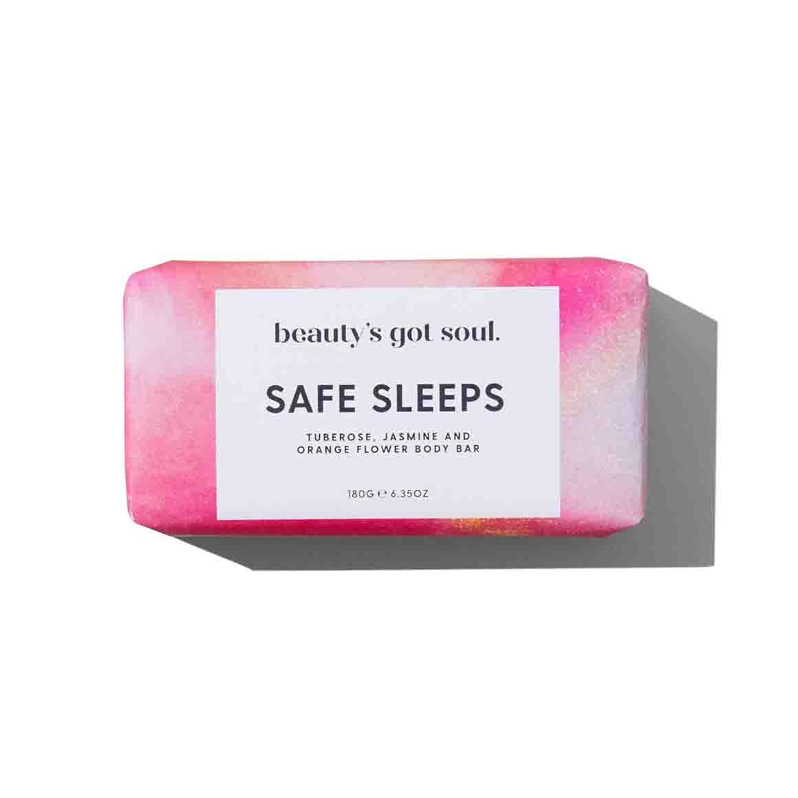 Beautys Got Soul Safe Sleeps Body Bar 180g   Trada Marketplace